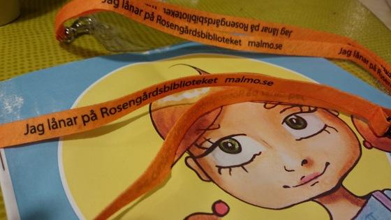 Inga Ingenjör på Rosengårdsbiblioteket i Malmö