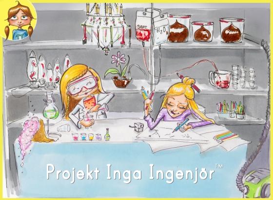 Malin&Andrea Inga Ingenjör