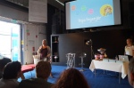 Annika Mårtensson (prorektor på LTH) berättar om LTH och JäLM samt kopplingen till projekt Inga Ingenjör