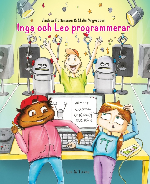Framsida Inga och Leo programmerar.-rgb